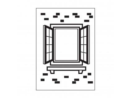1219 409 embosovací kapsa otevřené okno
