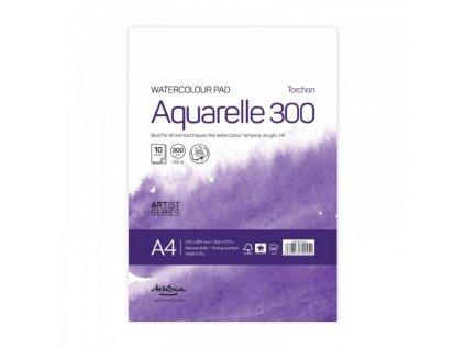 900900128 skicák aquarelových papírů přírodní bílý A4