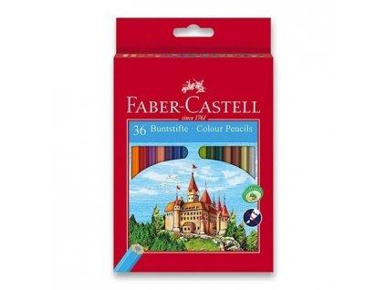 RE 580041 psatelky dřevěné 36 kusů Faber Castell