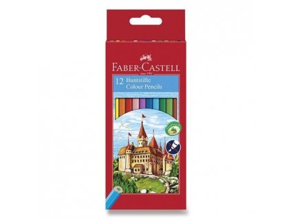 RE 580089 psatelky dřevěné 12 kusů Faber Castell