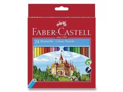 RE 580065 psatelky dřevěné 24 kusů Faber Castell