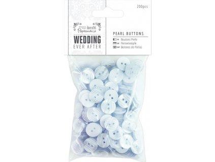 Knoflíky perleťové svatební