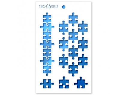 flexibilní plastová šablona Puzzle