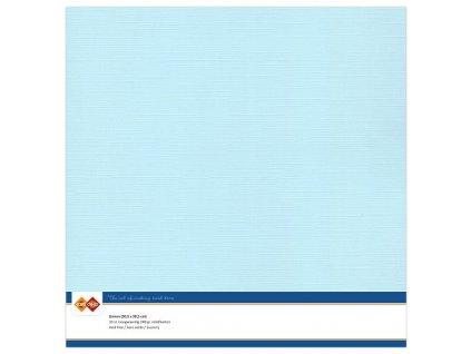 Barevný papír texturovaná čtvrtka baby modrá 30x30cm