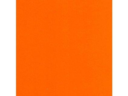 Barevný papír oranžový mandarinka