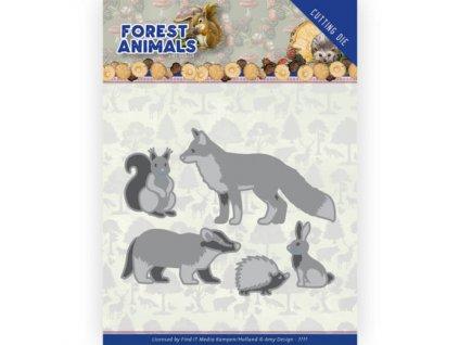 add10233 vyřezávací šablona lesní zvířátka