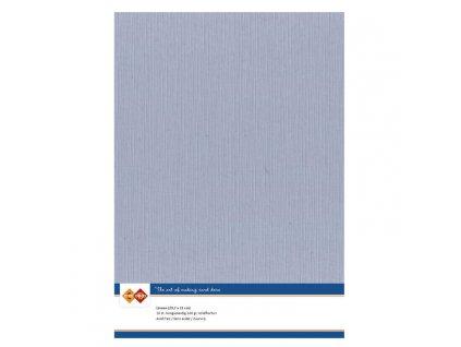 Barevný papír - texturovaná čtvrtka stará modrá