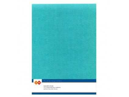 Barevný papír - texturovaná čtvrtka smaragdová