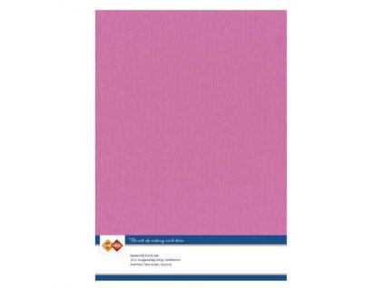 Barevný papír - texturovaná čtvrtka růžová