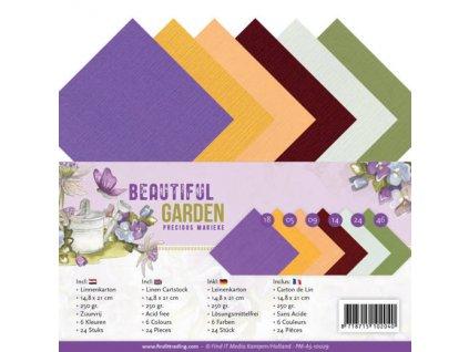 Sada papírů A5 Beautiful Garden