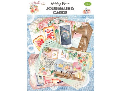 memory place happy place journaling cards mp 60507