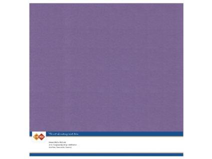 Barevný papír texturovaná čtvrtka fialová Grape 30x30cm