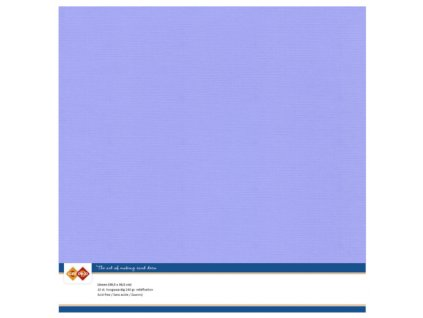 Barevný papír texturovaná čtvrtka levandulová 30x30cm