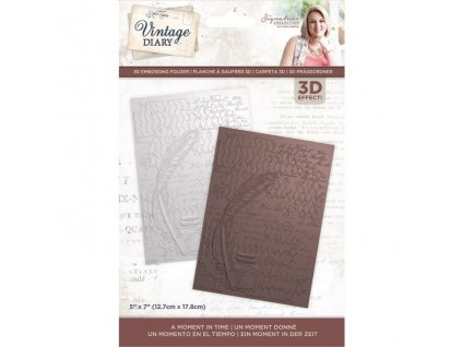 crafters companion vintage diary a moment in time