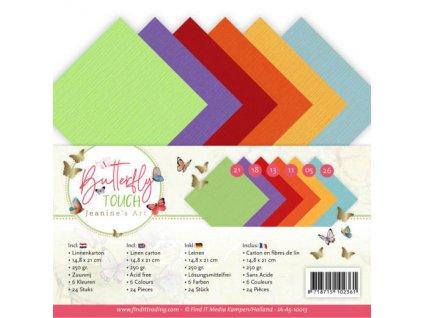 Sada papírů A5 Butterfly Touch