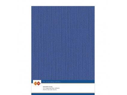 Barevný papír - texturovaná čtvrtka ultramarín