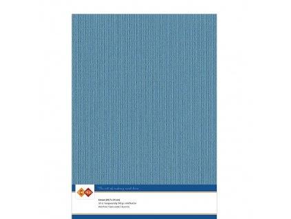 Barevný papír - texturovaná čtvrtka tyrkysová