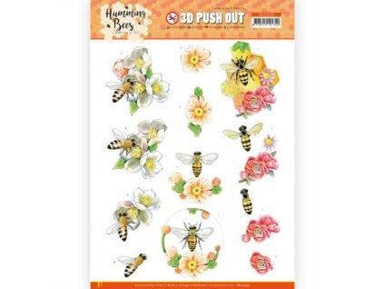 3D Výřezy papírové Včelí královna