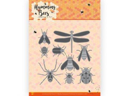 Šablona kovová vyřezávací Všechny druhy hmyzu