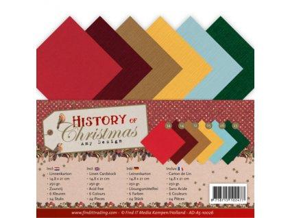 Sada papírů A5 Historické Vánoce