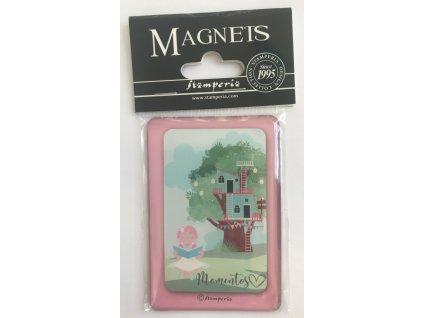 stamperia mi primera ilusion nina 8x55cm magnet em