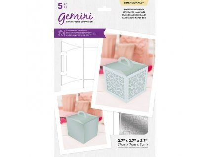 gemini handled favour box dimensionals die stencil