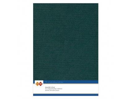 Barevný papír - texturovaná čtvrtka nefritově zelená