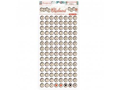 stamperia chipboard 15x30cm romantic christmas dfl