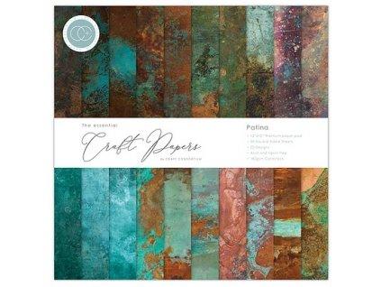 craft consortium essential craft papers 12x12 inch