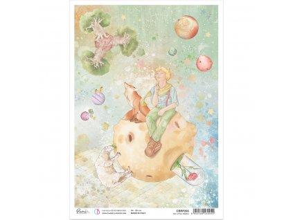Rýžový papír The Little Prince 21x29.7 cm