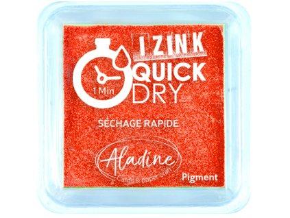 Rychleschnoucí Quick Dry razítkovací polštářek oranžový