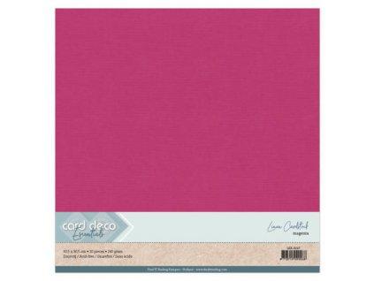 Barevný papír texturovaná čtvrtka purpurová 30x30cm