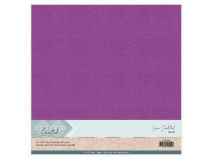 Barevný papír texturovaná čtvrtka nafialovělá 30x30cm