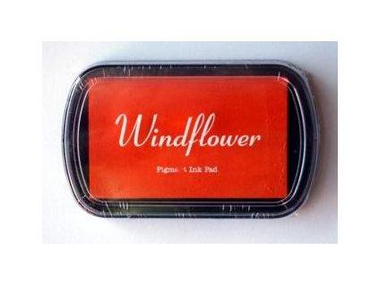 Razítkovací polštářek Windflower Oranžový