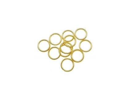 Kroužek pérový 5x0,8mm, pozlaceno