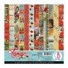 Sada oboustranných papírů Tango 15x15cm