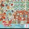 Sada oboustranných papírů Tango 30x30cm 8ks
