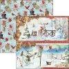 CBSS128 Snowmen papír Ciao bella