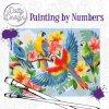 Malování podle čísel na plátno Papoušci