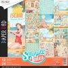 Sada oboustranných papírů Summer Tales 30x30cm