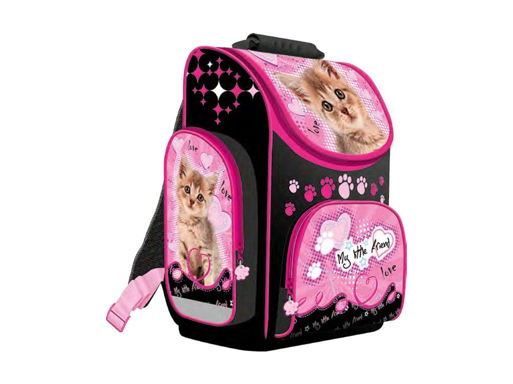 Školní batoh My Little Friend Kočka A1 2015 - Papírnictví dekorace 04fa55ec16