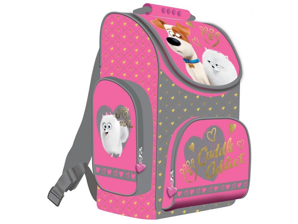 Školní batoh Tajný život mazlíčků - pro holky - Papírnictví dekorace f3588f50ea