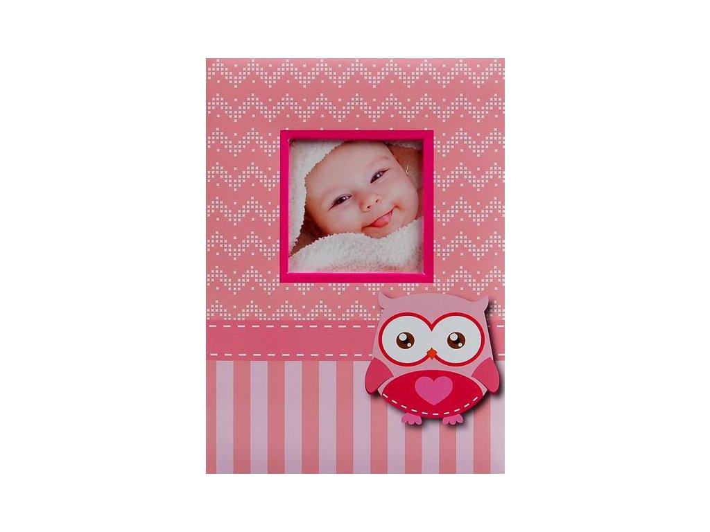 Fotoalbum 10x15/200foto B-46200SB Wink 2 růžové