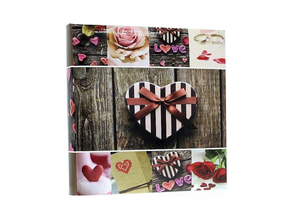 Fotoalbum 10x15/500foto B-46500S Joy růžový