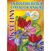 Antistresová omalovánka A5 - Květiny