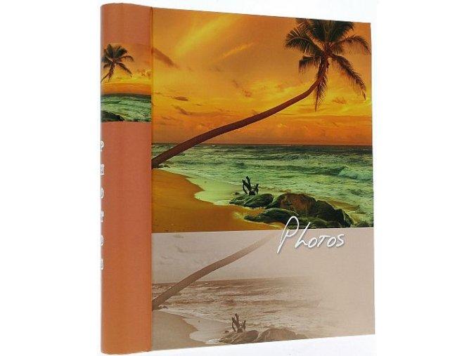 Fotoalbum samolepící DRS-30 Sinus oranžový