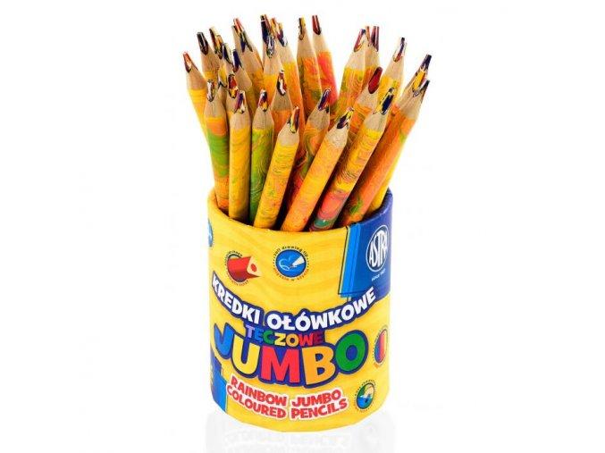 Jumbo pastelky 36 ks Rainbow