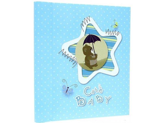 Fotoalbum samolepící DRS-30 Cute baby modrý
