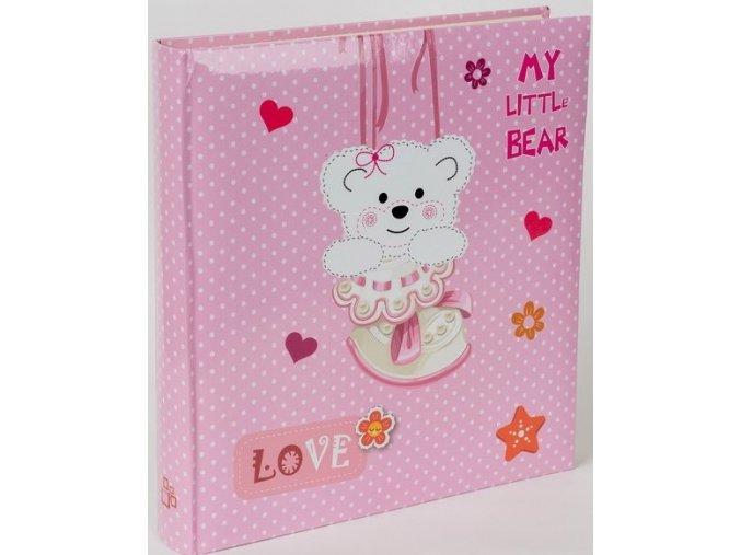 Fotoalbum na fotorůžky DBCL-30 Teddy bear růžový