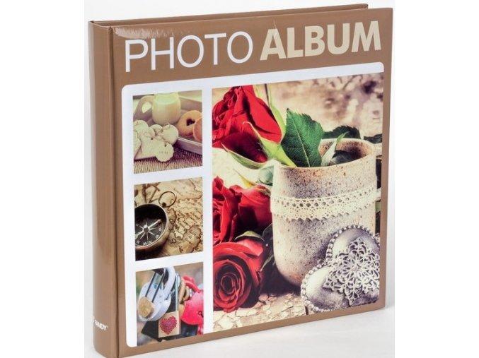 Fotoalbum 10x15/500foto B-46500S Terracotta 1 béžové